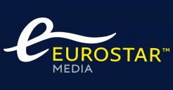 Logo for Eurostar Media